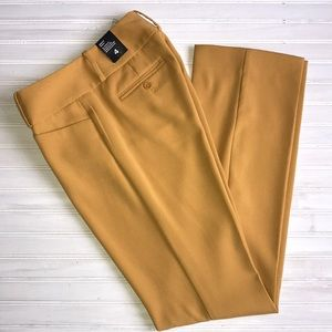 NWT! The Limited Drew bootcut mustard yellow pants